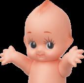 Kewpie Mascot
