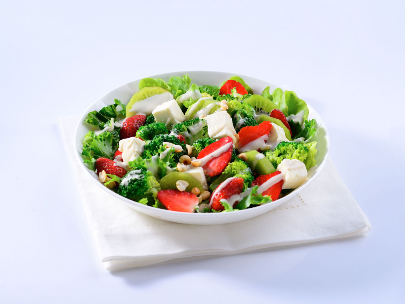 Cheese and Strawberry Salad