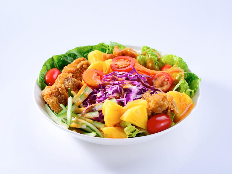 Chicken Karaage Salad