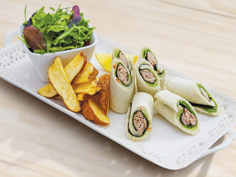Sandwich Tuna Gulung