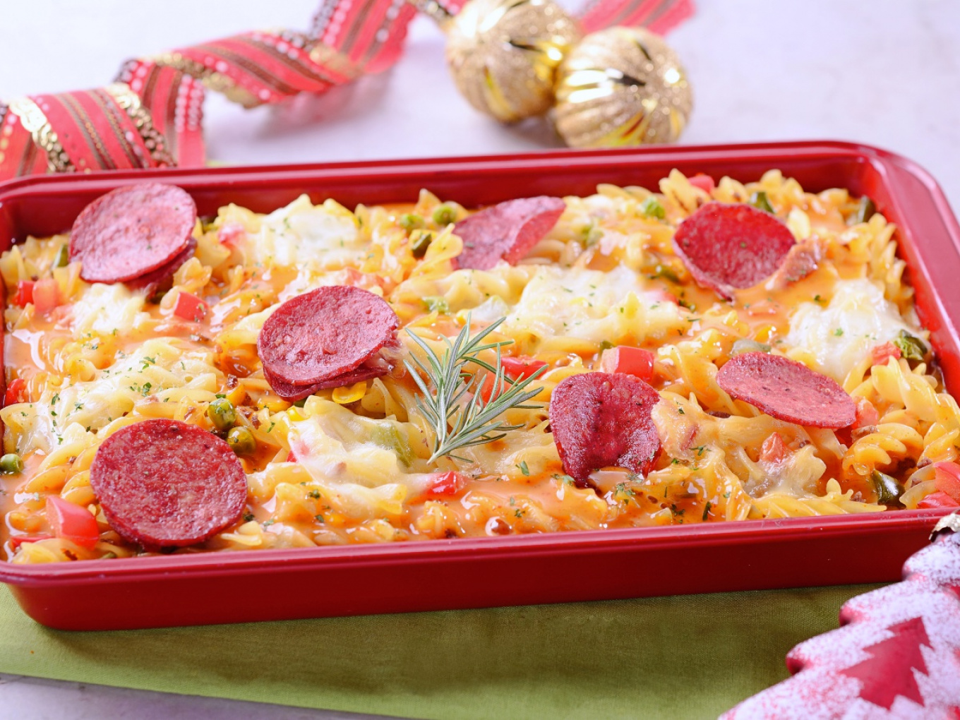 Spicy Baked Pasta