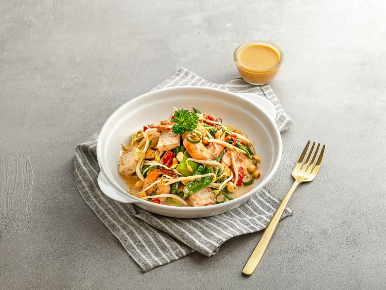 Shrimp Vegetable Saute