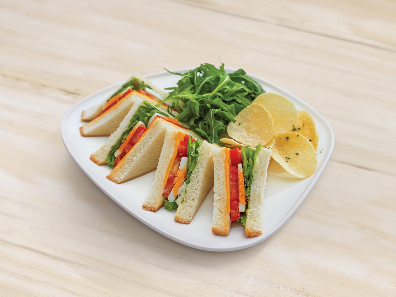 Sandwich Tomat dan Telur